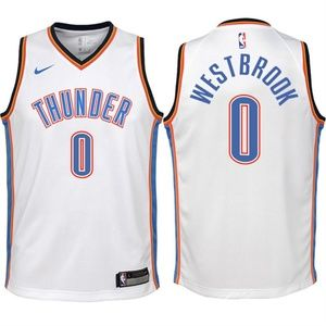 Youth Russell Westbrook Thunder Jersey